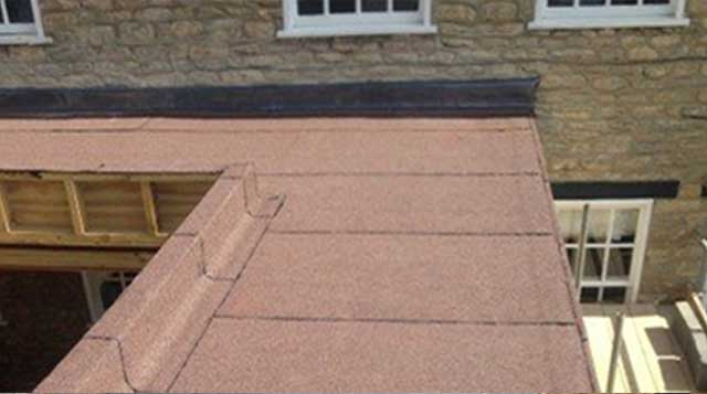 Domestic Flat Roof Installation